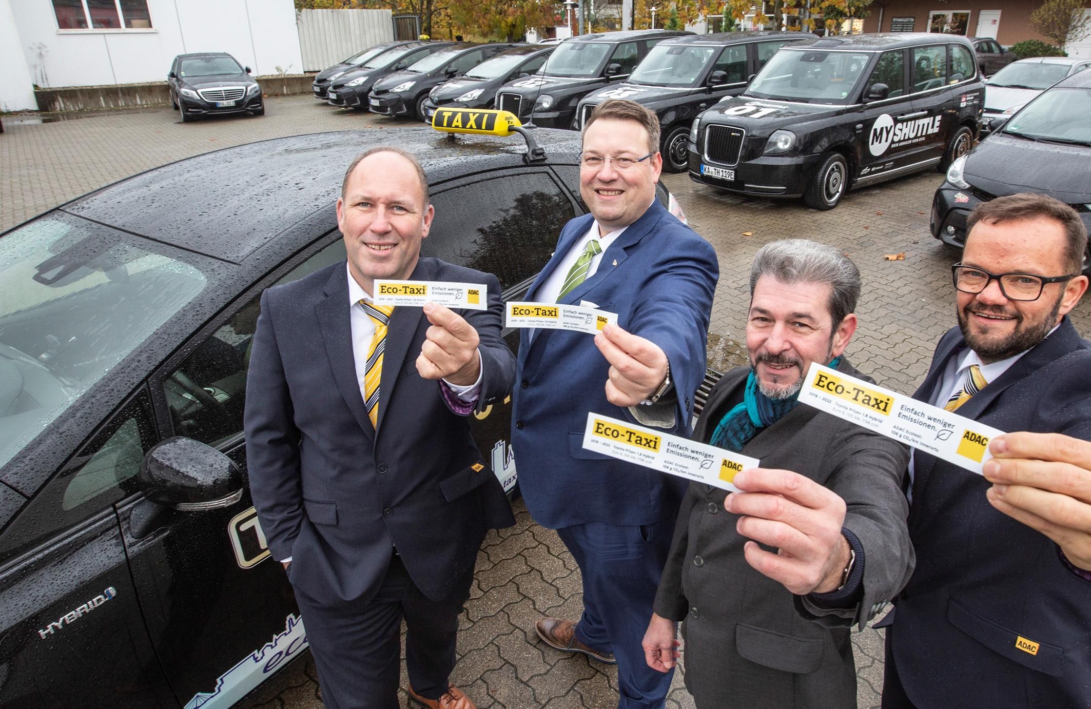 Foto Fabry, kostenfrei im Rahmen der Berichterstattung zu ADAC Eco-Taxi in Karlsruhe